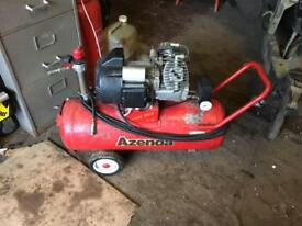 Air compressor twin pump 50l