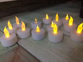 13 tea lights candle effect battery powered