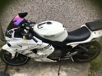 Hyosung gt125r, spares and repairs, no mot, does run and start
