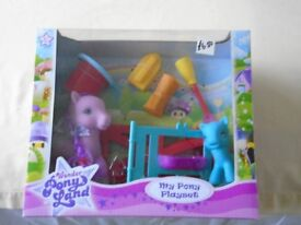 Wonder Ponyland - My Pony Playset - brand new