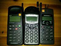 3 retro mobile phones