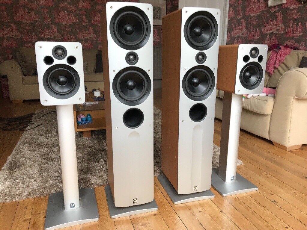 Q Acoustics Home Cinema Speakers In Morningside