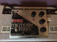 Deluxe memory man / vintage analog delay pedal electro harmonix