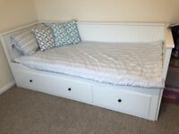 Hemnes Ikea day bed with mattresses