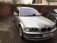 BMW 330D Touring Estate,Full Leather Interior,AUTOMATIC,Full BMW Service History.