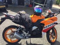2016 Honda CBR 125 Repsol
