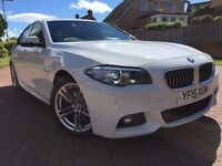 *STUNNING*2015(15)BMW 520 M-SPORT 2.0 DIESEL WITH ONLY 26K FSH FULLY LOADED SAT NAV LEATHER CRUISE*