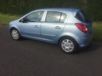5door corsa 1.2 sxi 07 Registered £1595