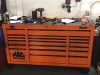 Mac tool box stunning orange massive box