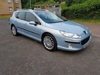 2006 Peugeot 407 SW 2.0 HDi SE 5dr Automatic @07445775115