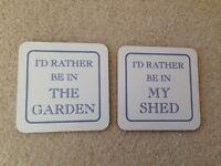 Garden themed COASTERS