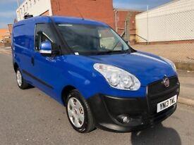 2013 13 Fiat Doblo 1.3 MJET 90 SX S/S Blue Turbo Diesel Van NO VAT