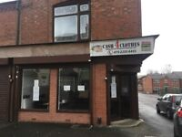 RETAIL SHOP TO RENT WALKING DISTANCE TO DUDLEY PORT STATION