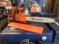 """Husqvarna Chainsaw 135 14"""" UK Stock with 2 year warranty with bar and chain"""