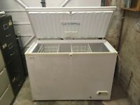 LEC chest freezer, full size: F137W model