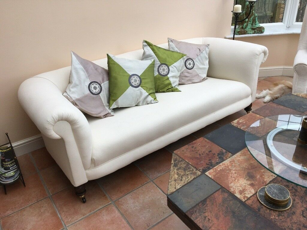 Sofa Sleek And Elegant Fabric Ideal For Conservatory