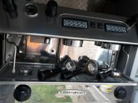 Stafco Coffee Espresso Machine. Twin Gang Double Group Head