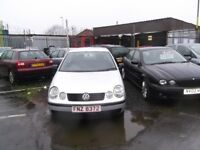 VW POLO 1.4 TDI COME'S WITH FULL MOT