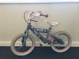 Girl's Bicycle for sale, would suit 4-6 year old.