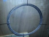 Great offer : 8 mm steel cable , 15 meters , new, cheap.