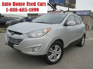 2011 Hyundai Tucson GLS ,Leather,alloy ,4 cyl