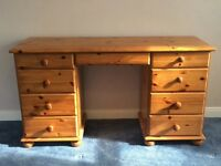 Pine Dressing Table - excellent condition