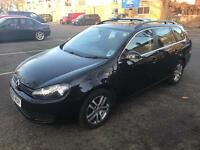 IMMACULATE CONDITION 2010 VW GOLF ESTATE 2.0 TDI SE,DRIVES LIKE NEW,FULL SER HISTORY,2 KEYS,2 OWNERS