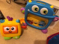 Kids fisher price monster toy range