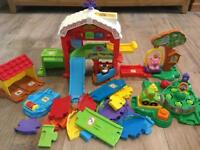 Vtech Toot-Toot Farm and accessories