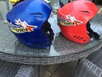 2 Children's ski helmets , salopettes and Billabong jacket