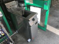 GAS SINGLE FALCON FRYER CATERING COMMERCIAL KITCHEN FAST FOOD RESTAURANT SHOP KITCHEN