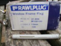 frame fixings 10 mm x 100mm for window and door screws