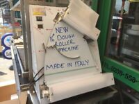 NEW ITALIAN DOUGH ROLLER MACHINE CATERING COMMERCIAL PIZZA BAKERY SHOP