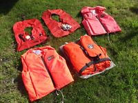 x5 Lifejackets & Buoyancy Aids - Job Lot.