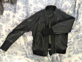 Zara faux leather kid's jacket size 5-6