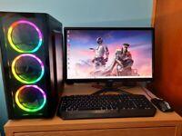 Brand New Build 12 Months Warranty, AMD Ryzen, 16 GB, SSD, GTX 1650 Gaming PC Computer