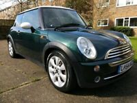 2005 Mini Cooper, 1.6 Petrol, Manual, New tyres, FSH, Long MOT.