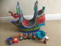 ELC Happyland Pirate Ship