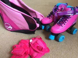 Kids girls roller skates