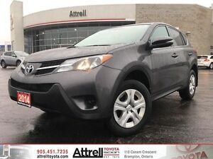 2014 Toyota RAV4 LE. Keyless Entry, Power Windows, Bluetooth
