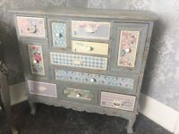 Vintage Distressed Chest Of Drawers & Cupboards