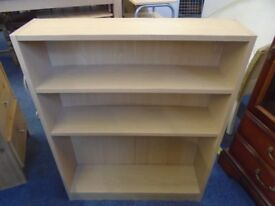 pine look book shelf.