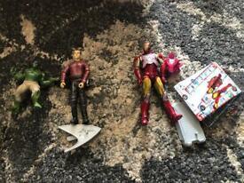 Various Action figures £1.50 each
