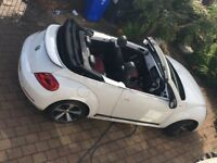 VW Beetle 2013 1.4 TSI 60's Edition Convertible, Very low mileage, Excellent condition