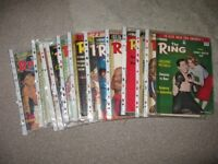 'The Ring' Boxing Magazines x 18