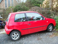 VW LUPO FOR SALE SPARES OR REPAIR