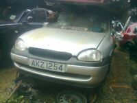 2000 VAUXHALL CORSA 1.0 PETROL BREAKING FOR SPARE PARTS