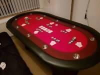 Professional tournament 10 man poker table