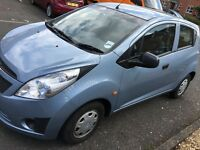 2012 CHEVROLET SPARK 0.1 5 DOORS LOW MILEAGE 27000 K