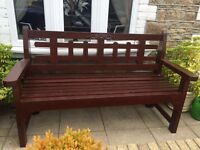 Traditional Handmade Garden Benches